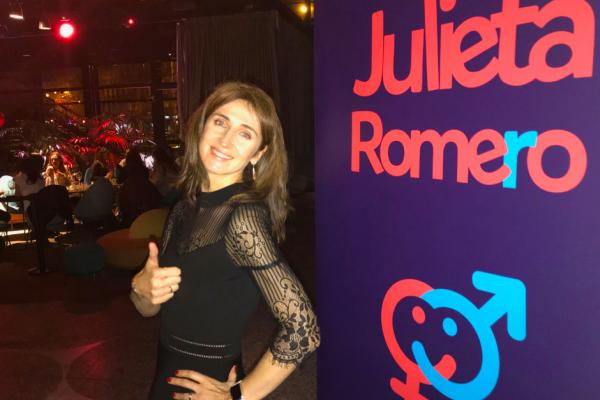 Julieta Romero en Nubel